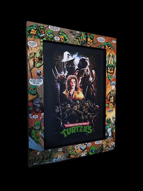1990's Teenage Mutant Ninja Turtles Frame