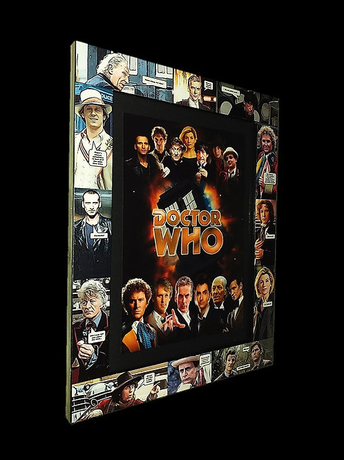 All 13 Doctors Frame