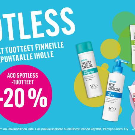Aco Spotless sarja -20%