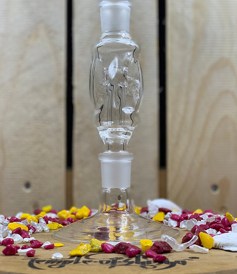 Magic Glass Molassefänger Twirl Clear