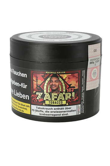 187 Strassenbande Tabak #28 Zafari 200g