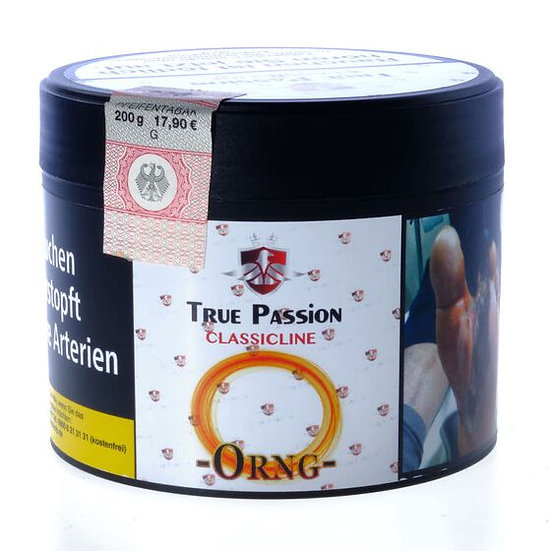 True Passion CLASSICLINE 200g -ORNG-