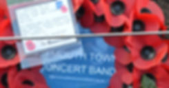 Exmouth Town Concert Band | Remembrance Sunday | Wreath