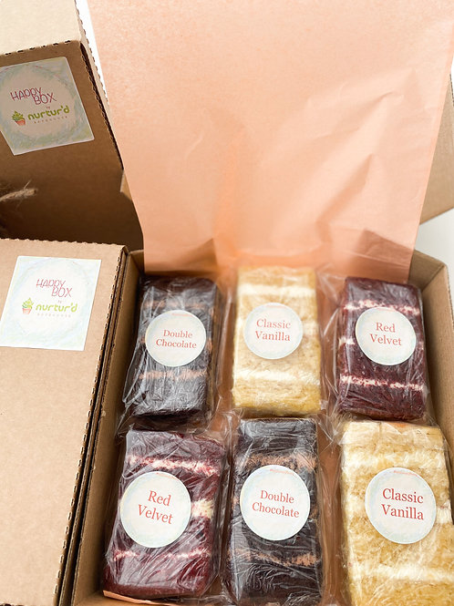 Cake Slices Happy Box