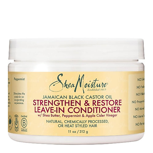 Shea Moisture Jamaican Black Castor Oil Strengthen, Grow & Restore Leave-In Cond