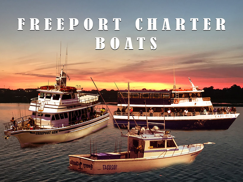 freeport charter boats freeport gem captain pete