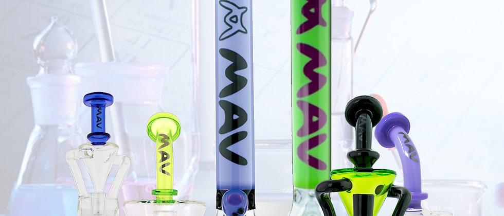 Mav Glass 18'' Manhattan Full Color Beaker Bong