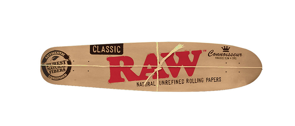 RAW Long Board Skateboard Deck