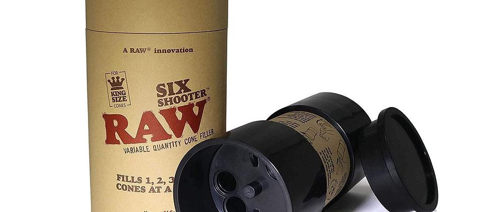 RAW Six Shooter 1 1/4 & KingSize