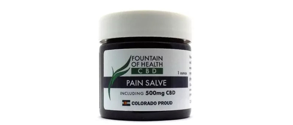 Fountain of Health 500mg Pain Salve