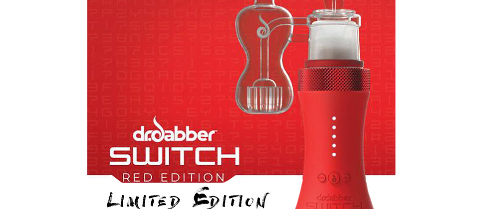 Limited Edition Dr.Dabber Switch RED