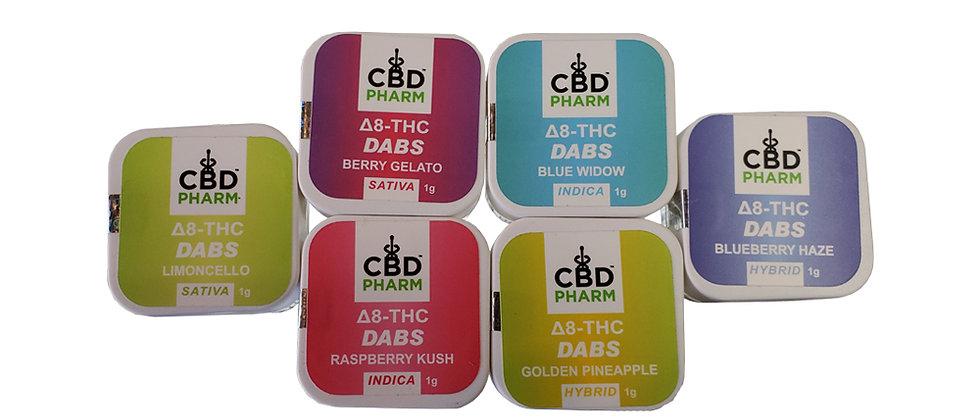 CBD Pharma Delta 8 Dabs