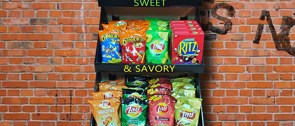Exotic Sweet and Savory Snaks