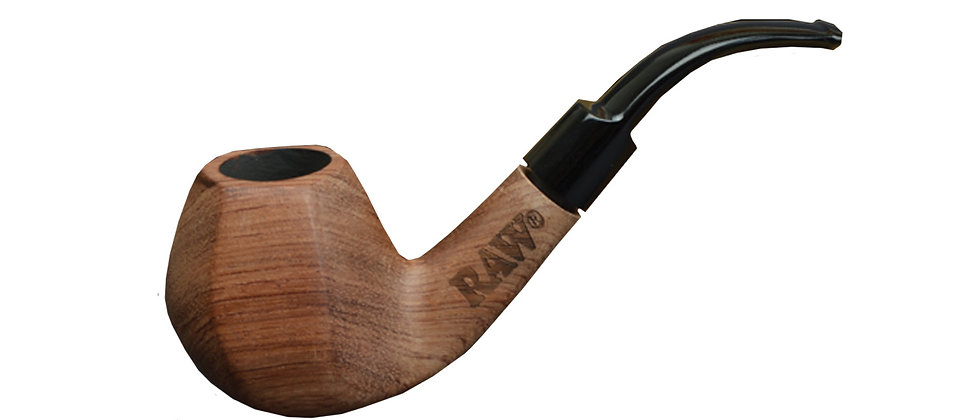 RAW Wooden Smoking Pipe