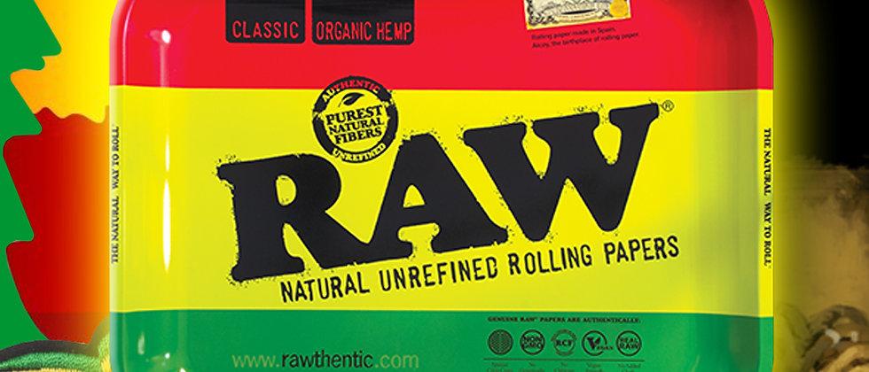 RAW Rasta Rolling Tray