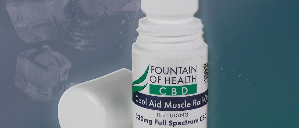 Fountain of Health 330mg Full Spectrum CBD Roll On