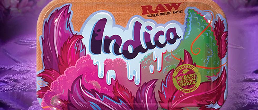 RAW Indica Strain Rolling Tray