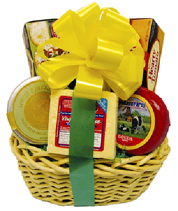 Cheese and Crackers Basket
