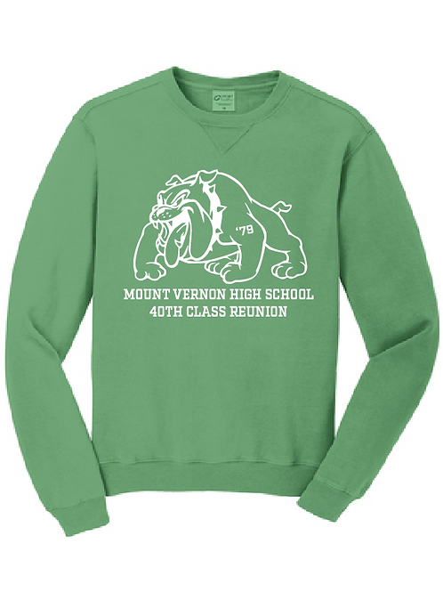 MVHS Class of 1979 Port & Company® Garment-Dyed Crewneck Sweatshirt