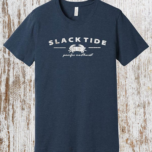 HEATHERED NAVY SLACK TIDE T SHIRT