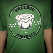 bull dog foot ball