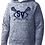Thumbnail: Sport-Tek® PosiCharge® Electric Heather Fleece Hooded Pullover
