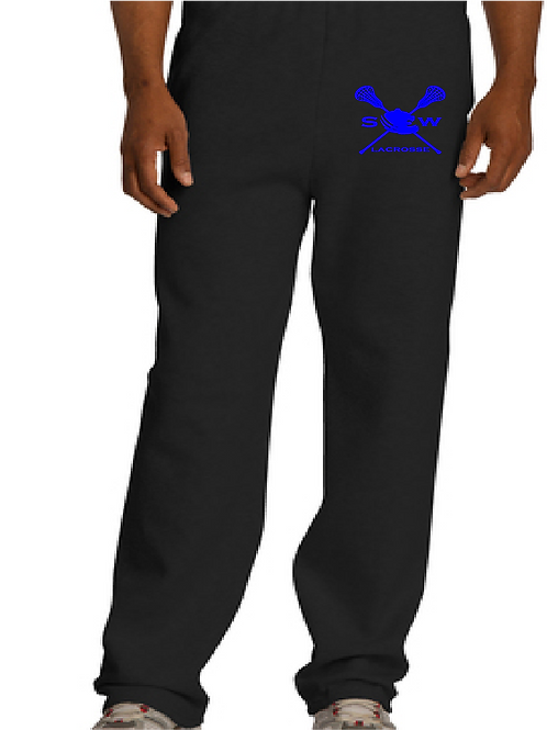 JERZEES® NuBlend® Open Bottom Pant with Pockets