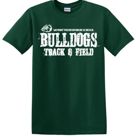 Bulldog Track and Field T Shirt