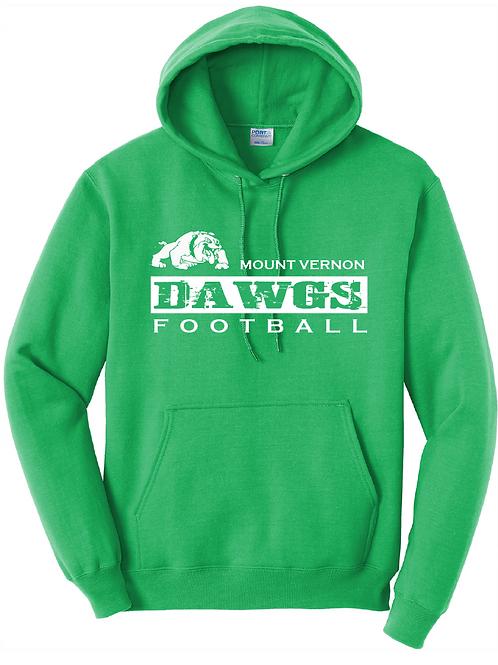 DAWGS FOOTBALL HOODIE