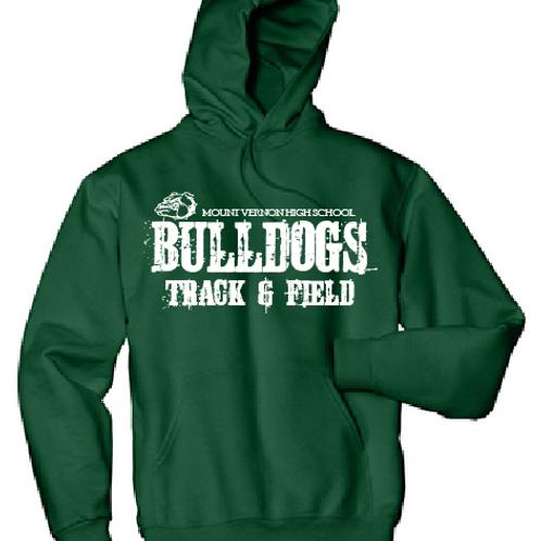 Bulldog Track and Field Hoodie