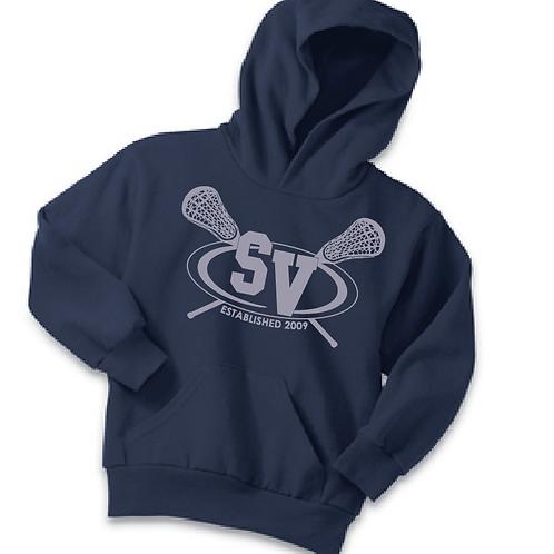 Port & Company® Youth Core Fleece Pullover Hooded Sweatshirt