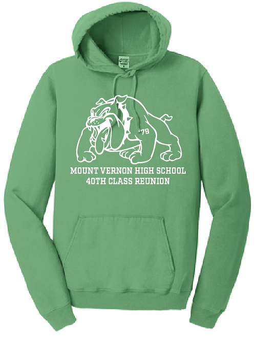 MVHS Class of 1979 Port & Company® Garment-Dyed Pullover Hooded Sweatshirt