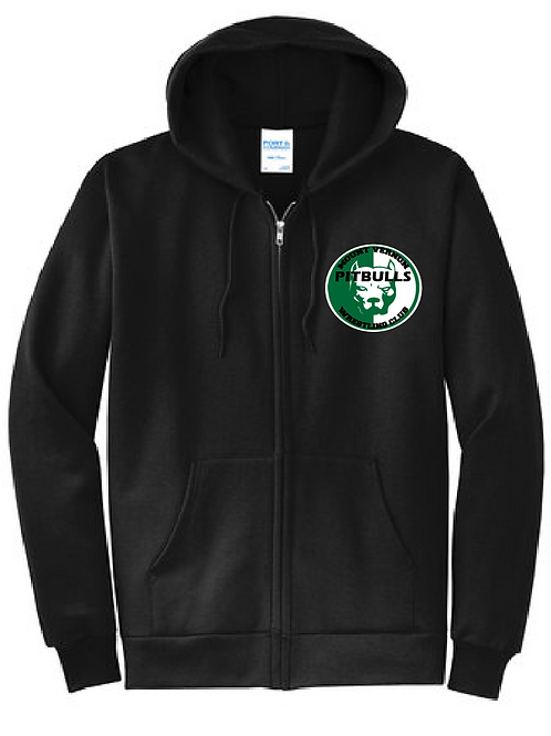 Port & Company® - Essential Fleece Full-Zip Hooded Sweatshirt