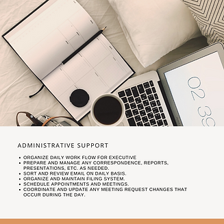 Freelance Service Adminstrative Support.