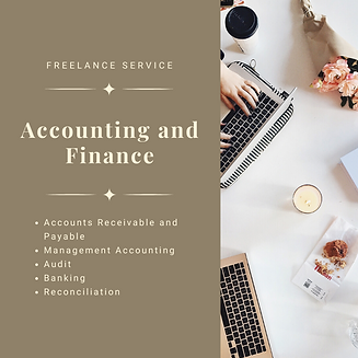 Freelance Service Accounting and Finance