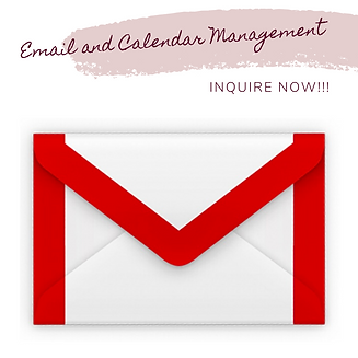 Freelance Service Email and Calendar Man