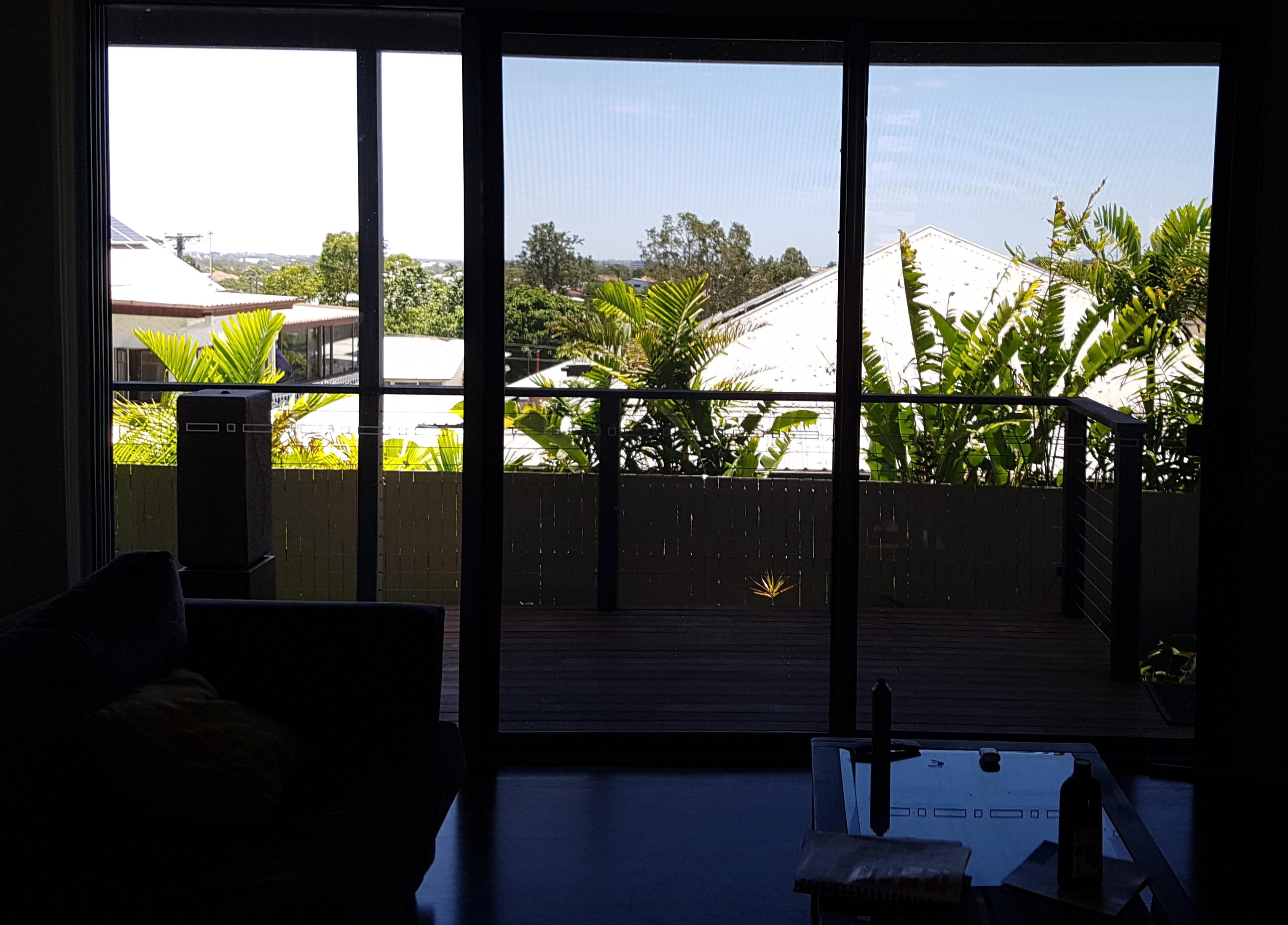 Brisbane - clear blue skies and breezes