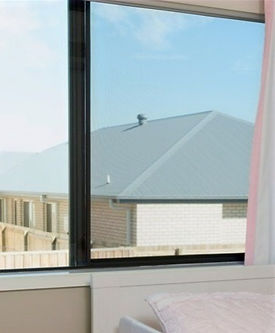 Guardian fall prevention window screen second story