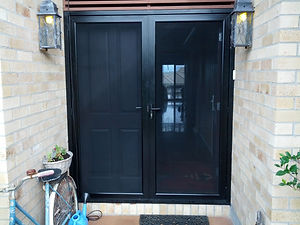 Panther Protect French Doors stainless steel security doors