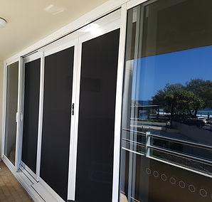 Panther Protect security doors stainless steel mesh resists rust in beachside Gold Coast