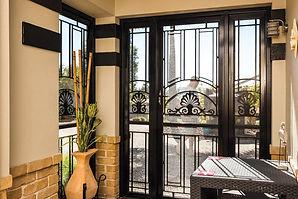 Heritage aluminium front door Prowlerproof Gold Coast