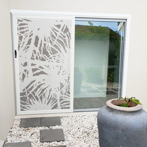 Pandanus Shoji Sliding Security Screen D