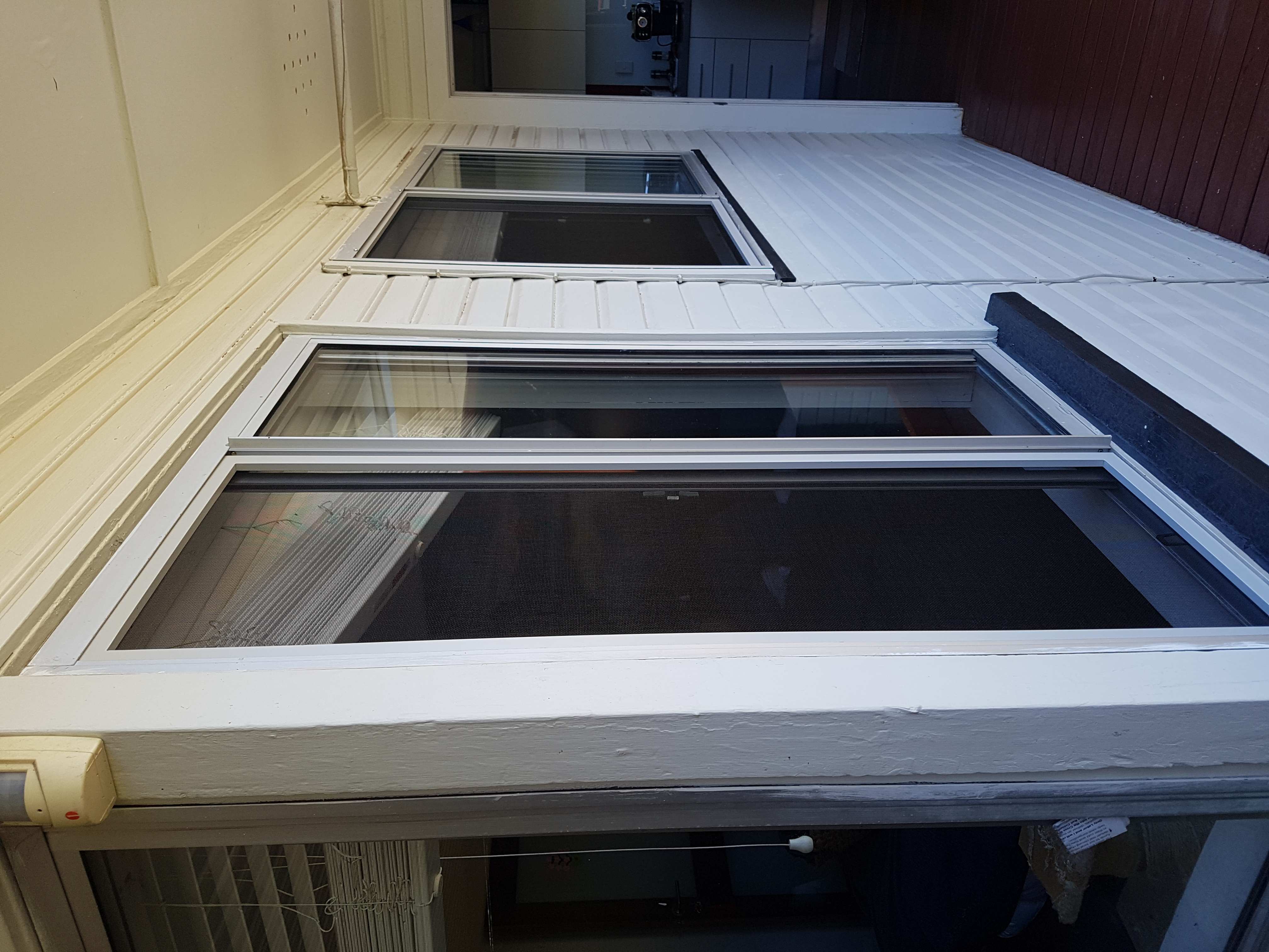 New flyscreen windows to keep the insects out, Coorparoo