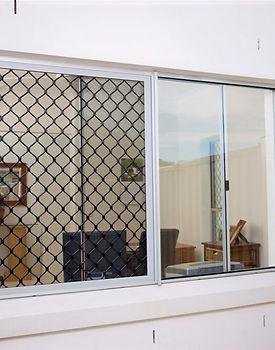 Diamond grill design window Coorparoo