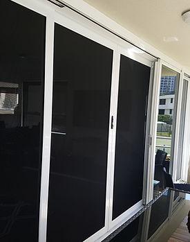 Repaired security screen door Gold Coast