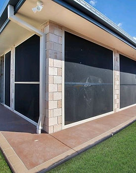 Patio enclosure in Panther Protect