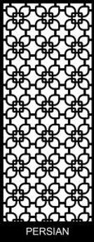 Persian - Decoview lasercut security door design