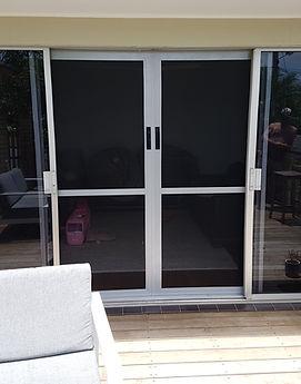 Fly screen sliding doors