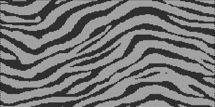 Zebra Perforated