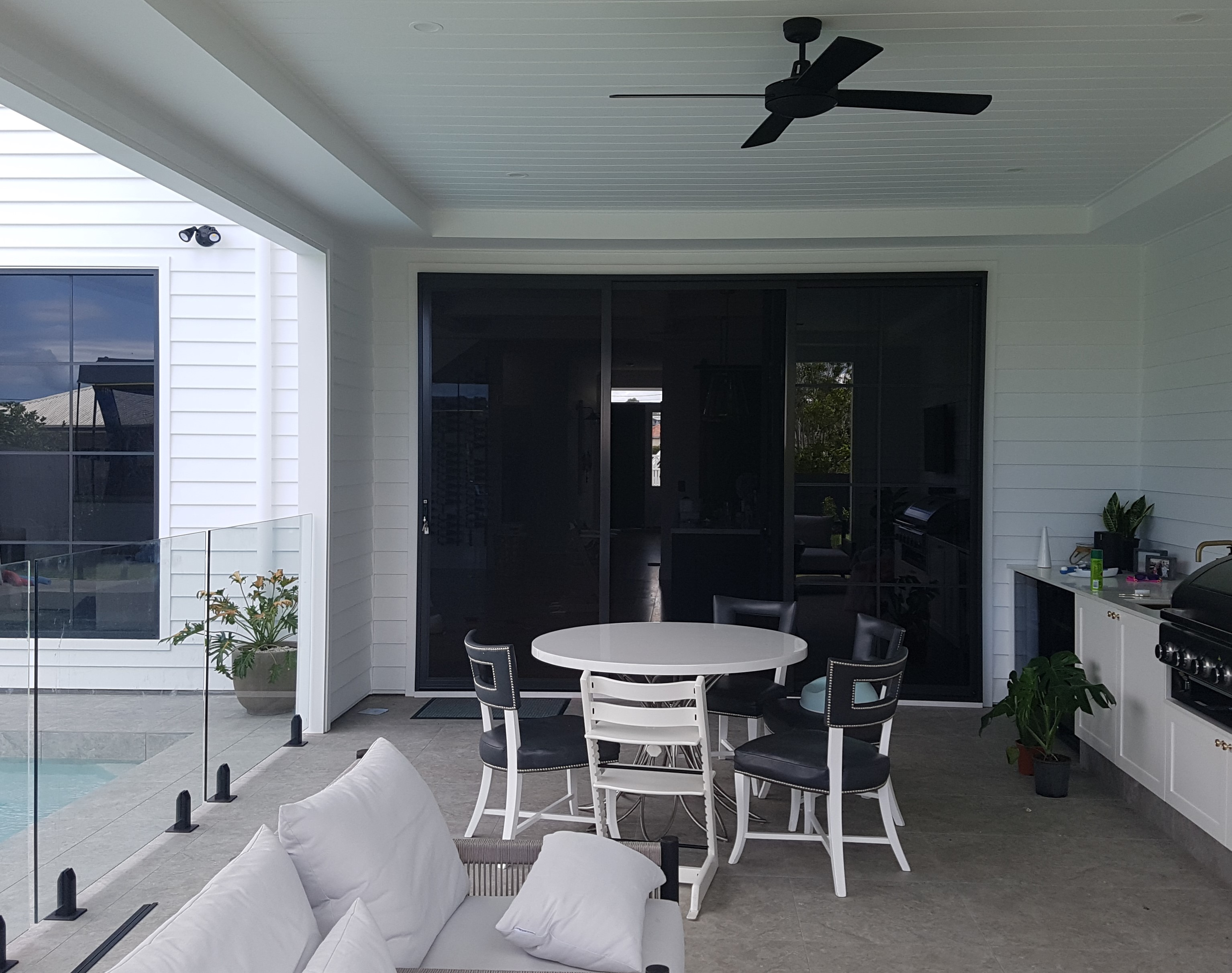 Enjoy your outdoor areas with security